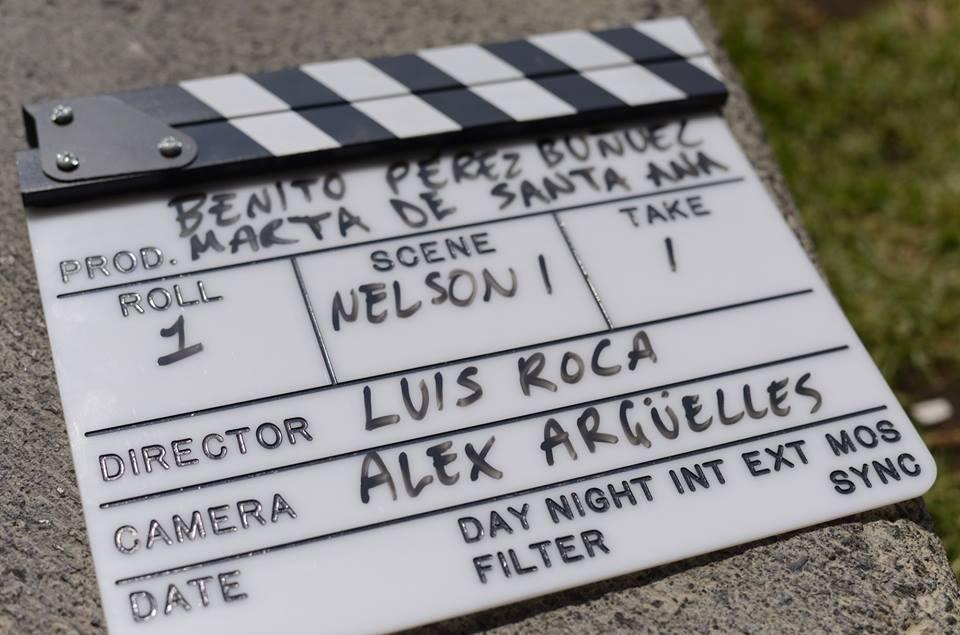 Primera toma del rodaje del teaser - México